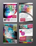 Polygon Modern Brochure Layout design template.Flyer Leaflet cov. Er Presentation e stock illustration