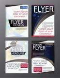 Polygon Modern Brochure Vector CMYK Modern A4 Royalty Free Stock Photos