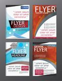 Polygon Modern Brochure Vector CMYK Modern A4. Eps.10 Royalty Free Stock Images
