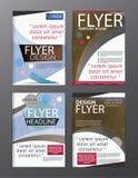 Polygon Modern Brochure Vector CMYK Modern A4 Stock Image
