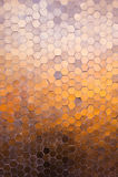 Polygon mosaic brown background. Bright abstract polygon mosaic brown background Stock Images