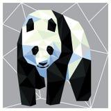 Polygon panda Stock Photo