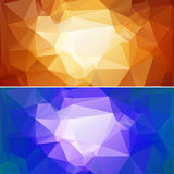 Polygon Paper Backgrounds 02 Royalty Free Stock Image