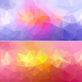 Polygon Paper Backgrounds 01 Royalty Free Stock Photo