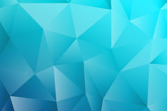 Polygon rectangle blue texture background. Stock Photography
