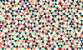Polygon retro vintage pattern background Stock Photo