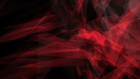 Polygon shapes dark background. Random polygon shapes abstract motion graphic background stock video