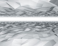 Polygon surfaces background. Royalty Free Stock Photos