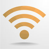 Polygon Wifi Stock Image