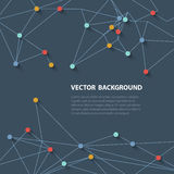 Polygonal ανασκόπηση Στοκ εικόνες με δικαίωμα ελεύθερης χρήσης