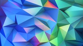 Polygonal ανασκόπηση Στοκ εικόνα με δικαίωμα ελεύθερης χρήσης