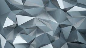 Polygonal ανασκόπηση Στοκ φωτογραφία με δικαίωμα ελεύθερης χρήσης