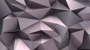 Polygonal ανασκόπηση Στοκ Φωτογραφία