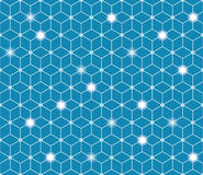 Polygonal αφηρημένο υπόβαθρο Έννοια συνδέσεων Στοκ εικόνα με δικαίωμα ελεύθερης χρήσης