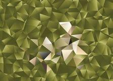 Polygonal αφηρημένο υπόβαθρο Διανυσματική τέχνη συνδετήρων Στοκ Φωτογραφίες