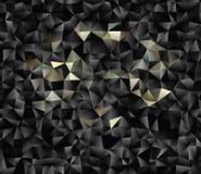 Polygonal αφηρημένο υπόβαθρο Διανυσματική τέχνη συνδετήρων Στοκ Εικόνα