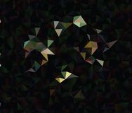 Polygonal αφηρημένο υπόβαθρο Διανυσματική τέχνη συνδετήρων Στοκ φωτογραφίες με δικαίωμα ελεύθερης χρήσης