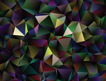 Polygonal αφηρημένο υπόβαθρο Διανυσματική τέχνη συνδετήρων Στοκ εικόνες με δικαίωμα ελεύθερης χρήσης