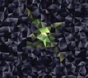 Polygonal αφηρημένο υπόβαθρο Διανυσματική τέχνη συνδετήρων Στοκ φωτογραφία με δικαίωμα ελεύθερης χρήσης