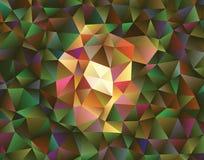 Polygonal αφηρημένο υπόβαθρο Διανυσματική τέχνη συνδετήρων Στοκ Εικόνες
