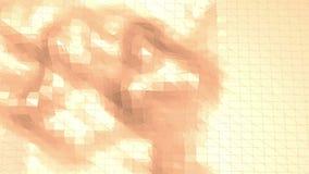 Polygonal ψηφιακό περιβάλλον μωσαϊκών ή υπόβαθρο με vertex, ακίδες στο χαμηλό πολυ δημοφιλές σύγχρονο τρισδιάστατο σχέδιο κινούμε διανυσματική απεικόνιση