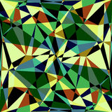 Polygonal abstract background Royalty Free Stock Photography