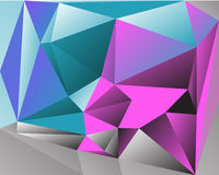 Polygonal Abstract Background Stock Photos