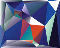 Polygonal Abstract Background. Design, EPS 10 supported vector illustration