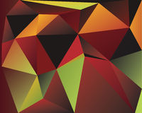 Polygonal Abstract Background. Design, EPS 10 supported Royalty Free Stock Image
