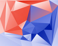 Polygonal Abstract Background. Design, illustration concept Royalty Free Stock Photos