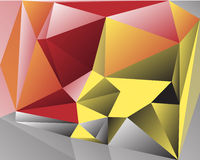 Polygonal Abstract Background. Design, illustration concept Royalty Free Stock Photo