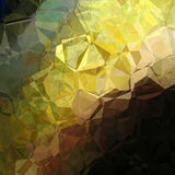 Polygonal abstract background. Abstract background pattern in polygonal style in green and brown colors Royalty Free Stock Photos
