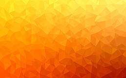 Polygonal abstract Background - red, yellow, orange Stock Images