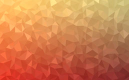 Polygonal abstract Background - red, yellow, orange Stock Image