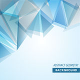 Polygonal abstract background Stock Photo