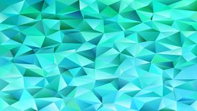Polygonal abstract chaotic triangle pattern background - vector mosaic graphic. Design Royalty Free Stock Photos