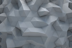 Polygonal abstract geometric triangle background Stock Photography
