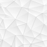 Polygonal abstract grey tech background. Vector design Stock Photo