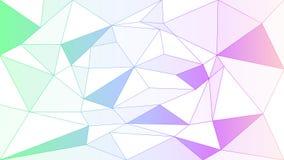Polygonal abstract vector background. Polygonal abstract elements vector light colour background stock illustration