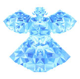 Polygonal Angel Royalty Free Stock Images