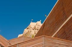 Polygonal architecture Stock Photo