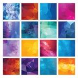 Polygonal   background. Stock Photos