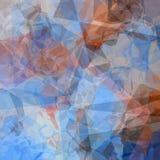 Polygonal background Stock Photography