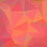Polygonal background-13. Abstract pink polygonal pattern with mosaic triangles. Design element for banners or wallpapers stock illustration