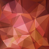 Polygonal background-06. Abstract pink polygonal pattern with mosaic triangles. Design element for banners or wallpapers Royalty Free Stock Images
