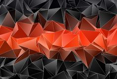 Polygonal background. Abstract triangulated texture Royalty Free Stock Photo