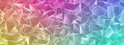Abstract triangulated polygonal background. Polygonal background. Abstract triangulated texture. backdrop. Triangular style. Modern Design 3d Royalty Free Stock Photos