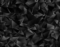 Abstract triangulated polygonal background. Polygonal background. Abstract triangulated texture. backdrop. Triangular style. Modern Design 3d Stock Photo