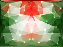 Polygonal background Stock Images