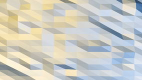 Polygonal Background Loop Royalty Free Stock Images